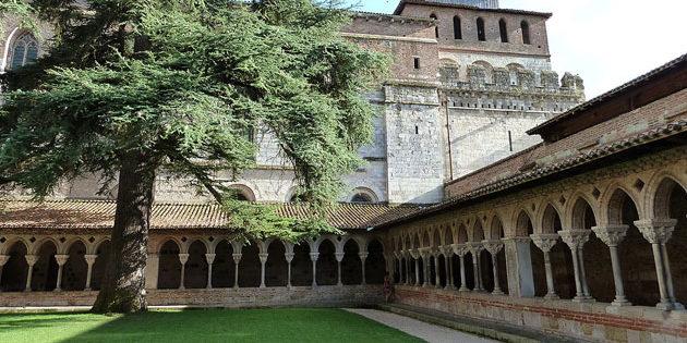 L'abbaye de Moissac et son cloitre classé au patrimoine mondial de l'Unesco