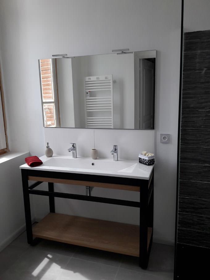 salle de bain chambre hôtes