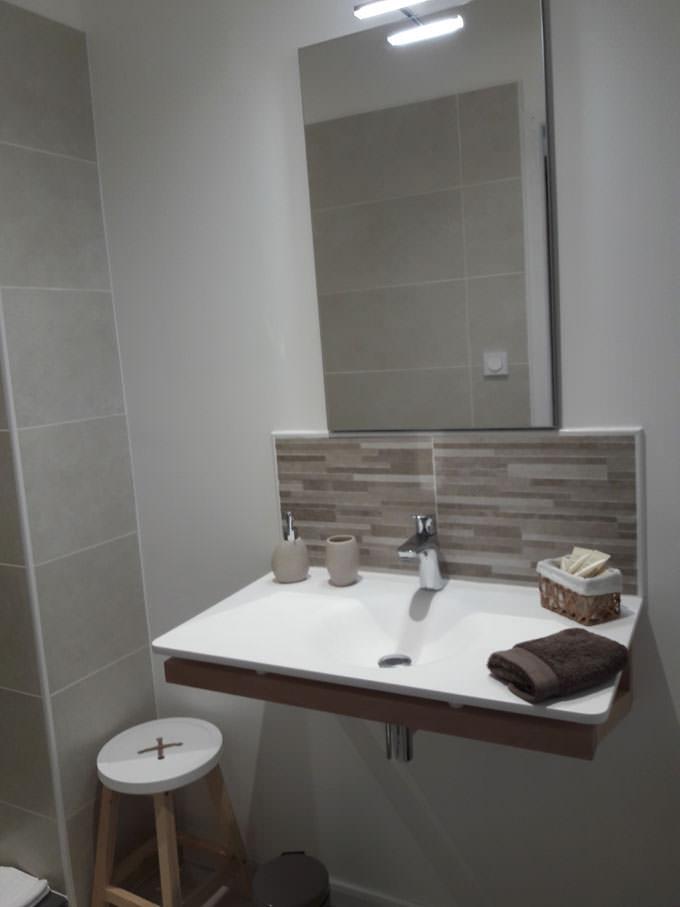 salle de bain bed and breakfast Tarn-et-Garonne