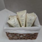 Verbena shower gel, shampoo and body lotion, ecological packaging