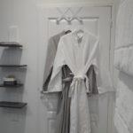 serviettes et peignoirs en coton de grande qualité