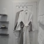 Nice fluffy towels and coton bathrobes of great quality