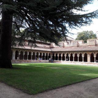 Magnifique cloître de l'Abbaye de Moissac près des chambres d'hôtes