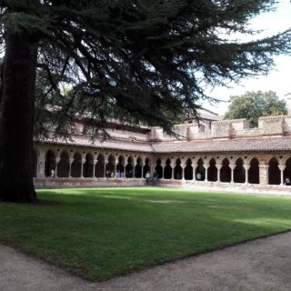 Beautiful cloister of Moissac Abbey close to our bed and breakfast