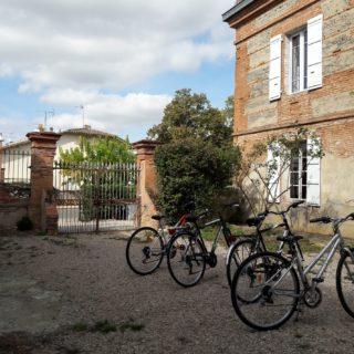 Prêt de 4 vélos pour découvrir la région