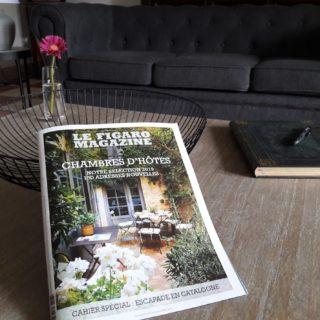 Au Coeur des Eléments figure dans le Figaro Magazine