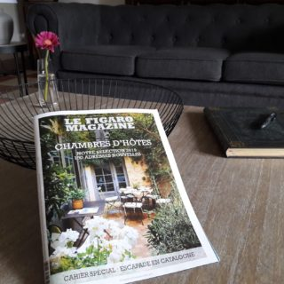 B&B Au Coeur des Elements appears in the Figaro Magazine